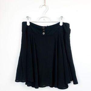 Twik Classy Black Mini Skirt